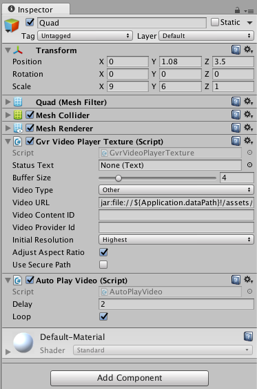 Building a Video Player in Daydream VR - SDK Boy